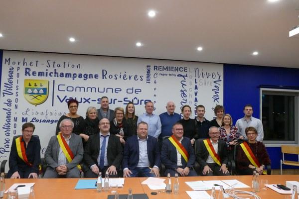 Conseil communal 2018